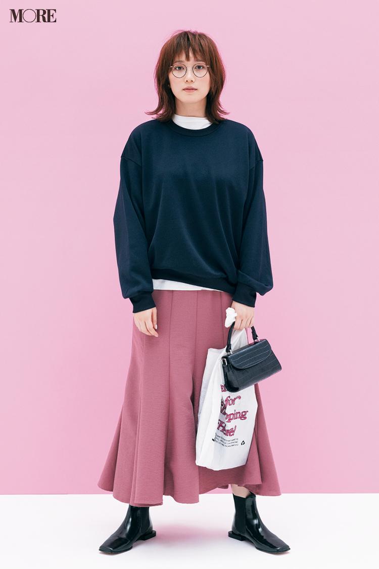 """本田翼が着こなしのお手本! この秋のピンクは""""大人っぽくて可愛い""""から、いいことしかない♡ PhotoGallery_1_2"""