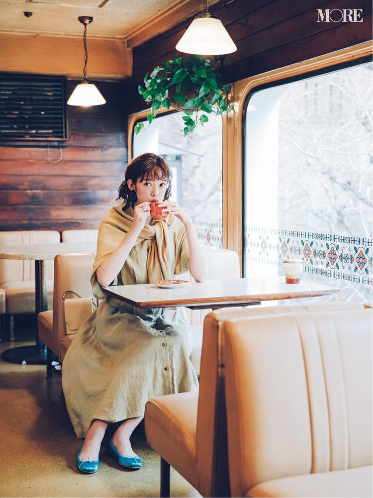 シャツワンピースの着こなし術【2020春】- 今年イチオシの色・形は? とびきり今っぽくておしゃれな最新ファッションまとめ_14