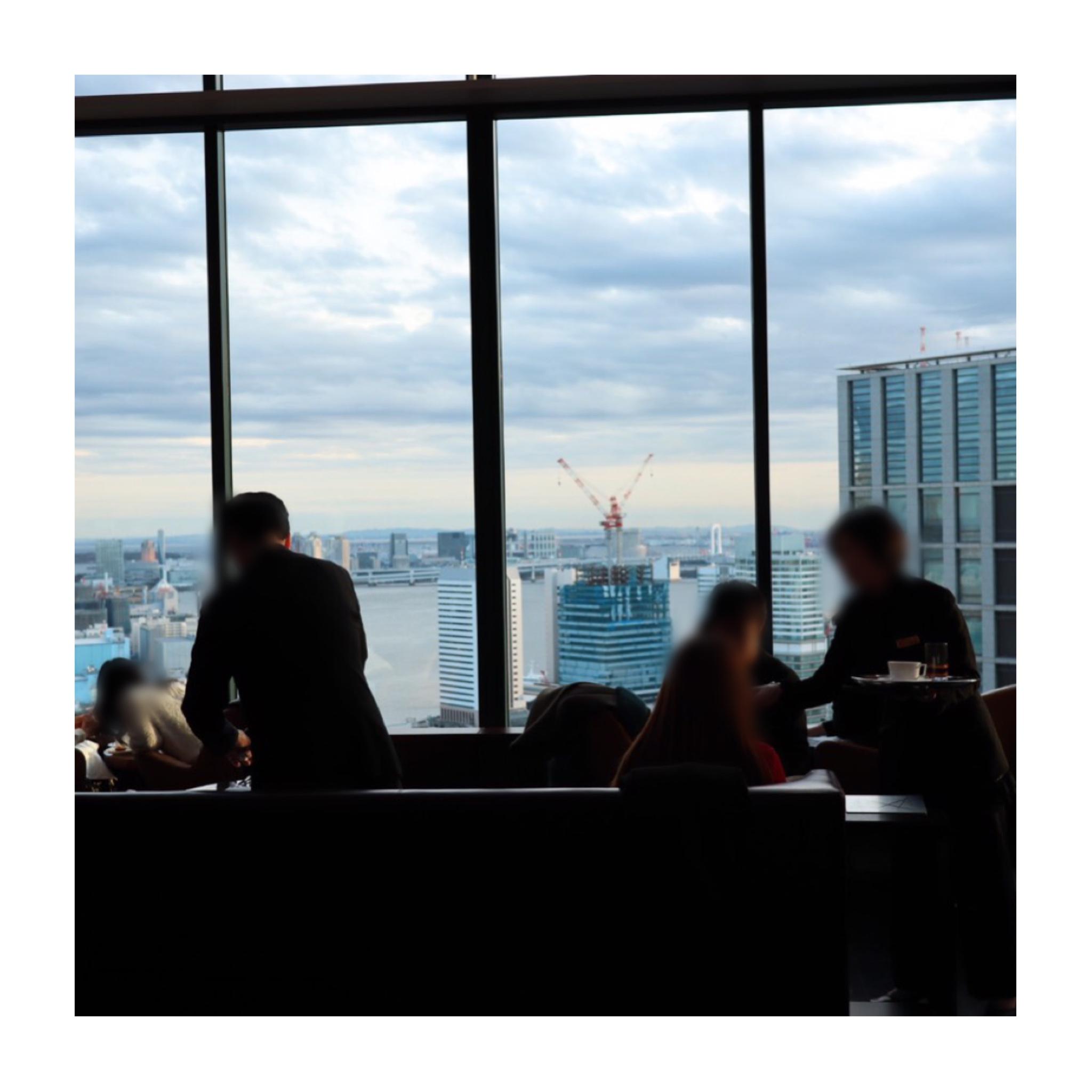 《パールをイメージした真っ白なアフタヌーンティー❤️》写真映え◎【コンラッド東京】のアフタヌーンティーに行ってきました☻_2