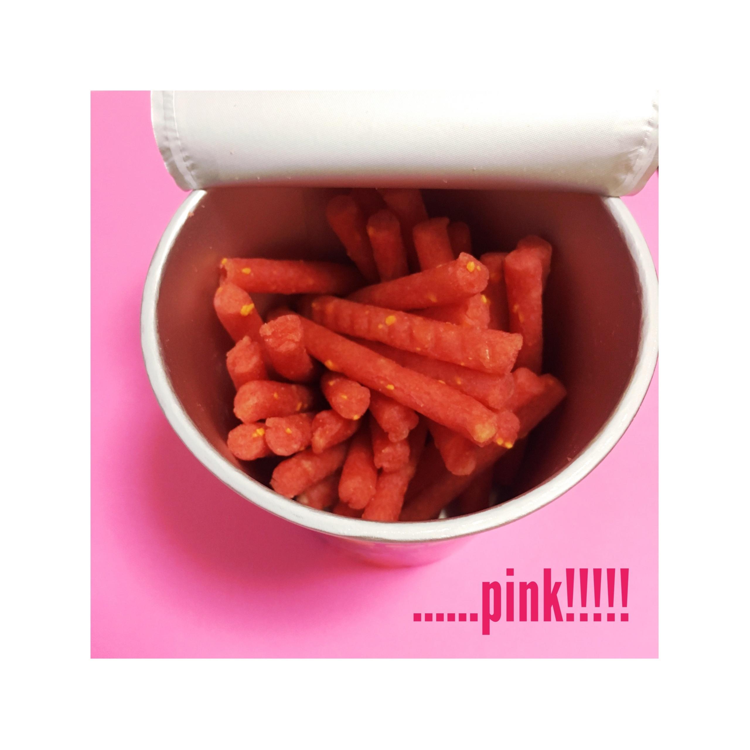 《いったいどんな味?!》【セブンイレブン限定】ピンク色のじゃがりこ登場!!期間限定モンスターピザ味★_2