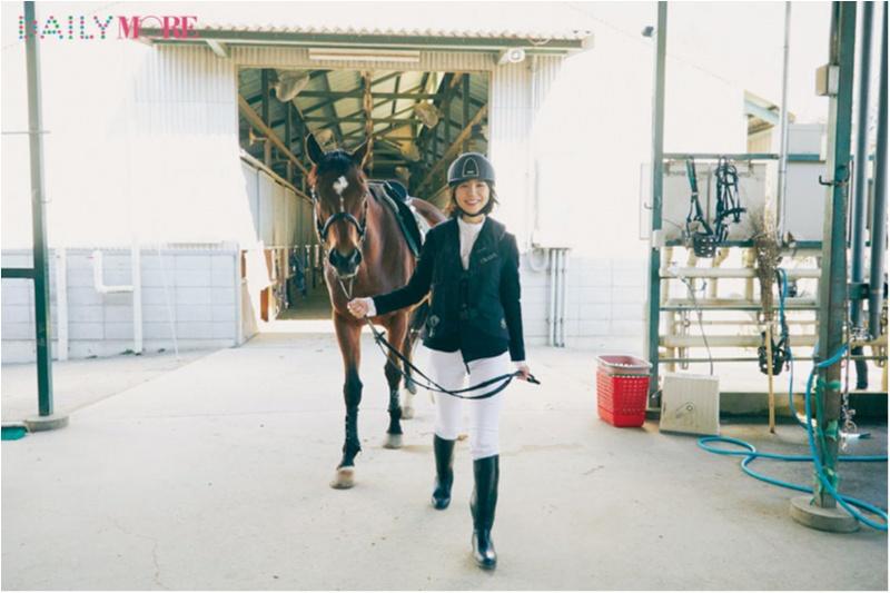 篠田麻里子もおすすめ♡ 『乗馬クラブクレイン』で、体験乗馬!【麻里子のナライゴトハジメ】_3