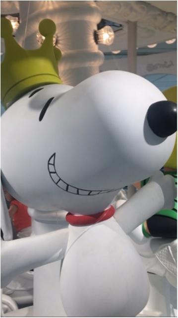 【スヌーピーカーニバル】大丸札幌店で開催中!!メリーゴーランドに乗ってる仲間たちが迎えてくれますよ!_1