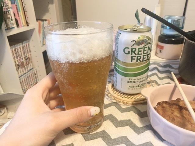 ビール嫌いもゴクゴク飲める!キリン「グリーンズフリー」で休日昼間に優勝_3