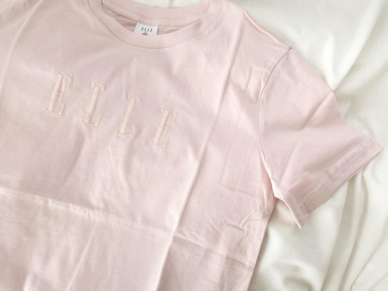 【GU×ELLEがコラボ!】思わず3色買い♡SNSでも話題のプチプラTシャツをGET!_3