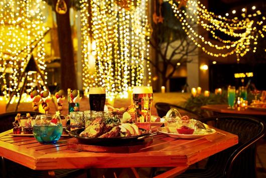 デートにおすすめ 「グランカフェビアガーデン」♡ 星のイルミネーションに囲まれながら乾杯しよう!【#ビアガーデン 2019 東京】_1