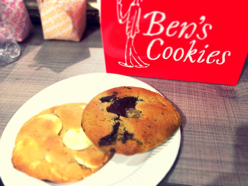 イギリス発人気クッキー専門店、Ben's cookiesたべてみました♡_6