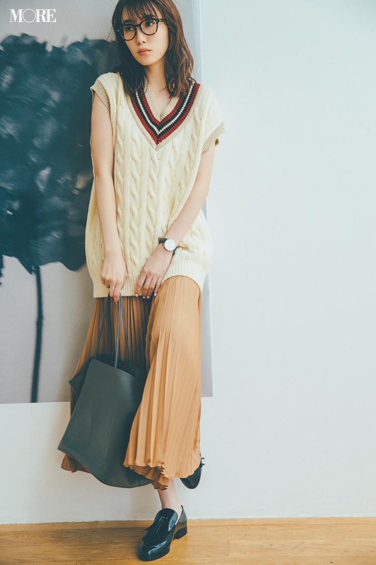 【ニットベスト】は真っ先に飛びつきたい秋服No.1! 記事Photo Gallery_1_9