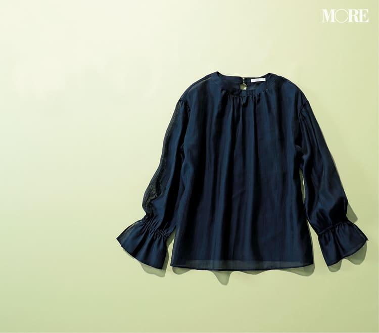 シースルーシャツのコーデ特集 - 透けるシャツ・ブラウスのおしゃれなコーディネートまとめ_33