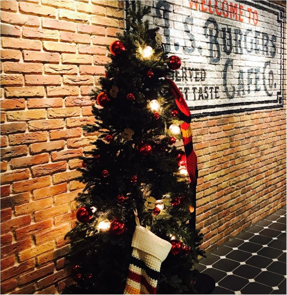 【J.S.Burgers Cafe】から《クリスマス限定メニュー》が新登場★ローストビーフとチキンバーガーが同時に堪能できちゃいます♡♡_2_3