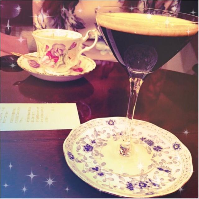 カクテルグラスで味わう美しすぎるコーヒー♡池袋の隠れ家カフェはここ!「皇琲亭」☻_5