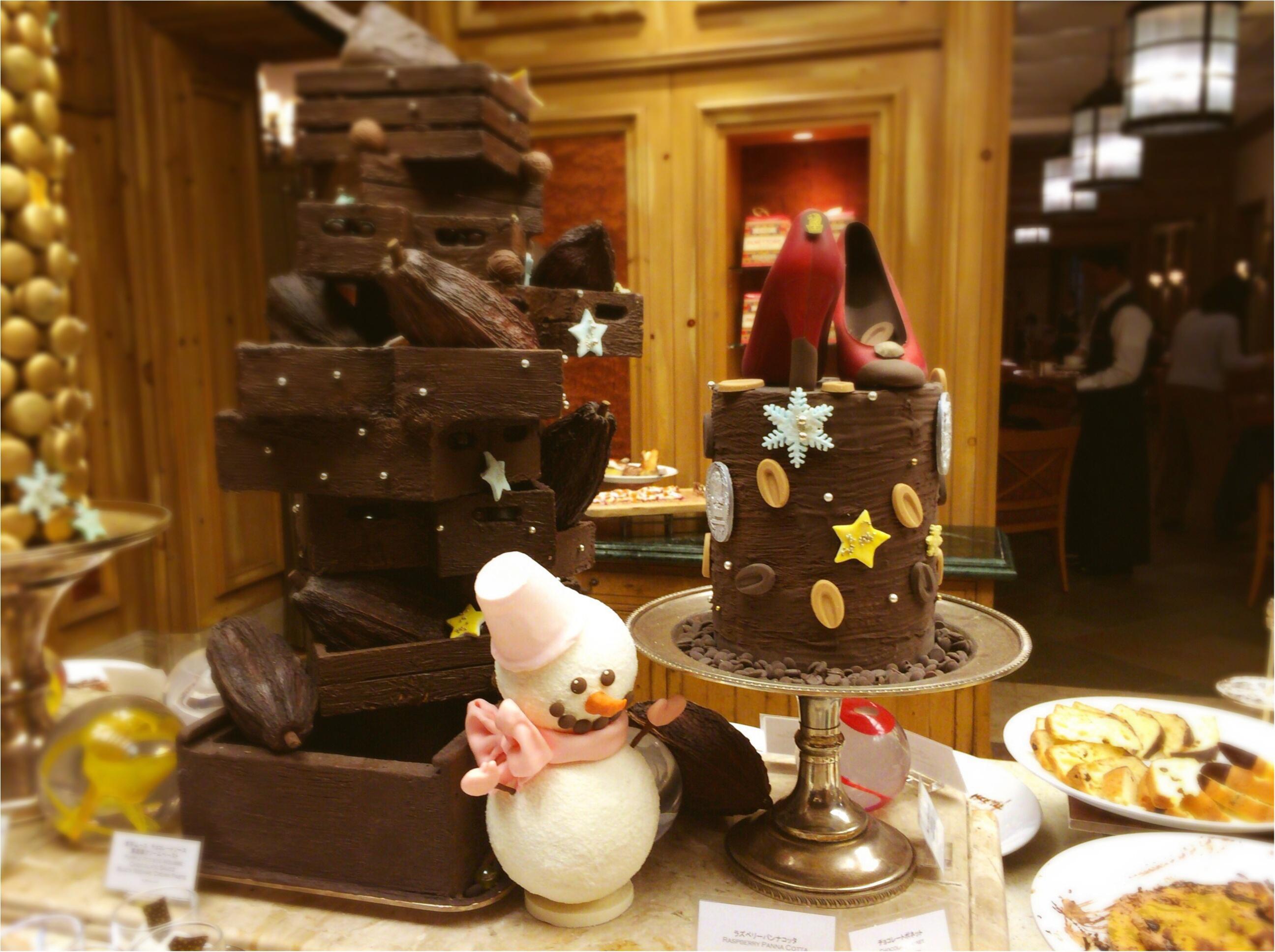元旦!リッツ・カールトン大阪の《チョコづくしブッフェ》に行ってきました!♡_4