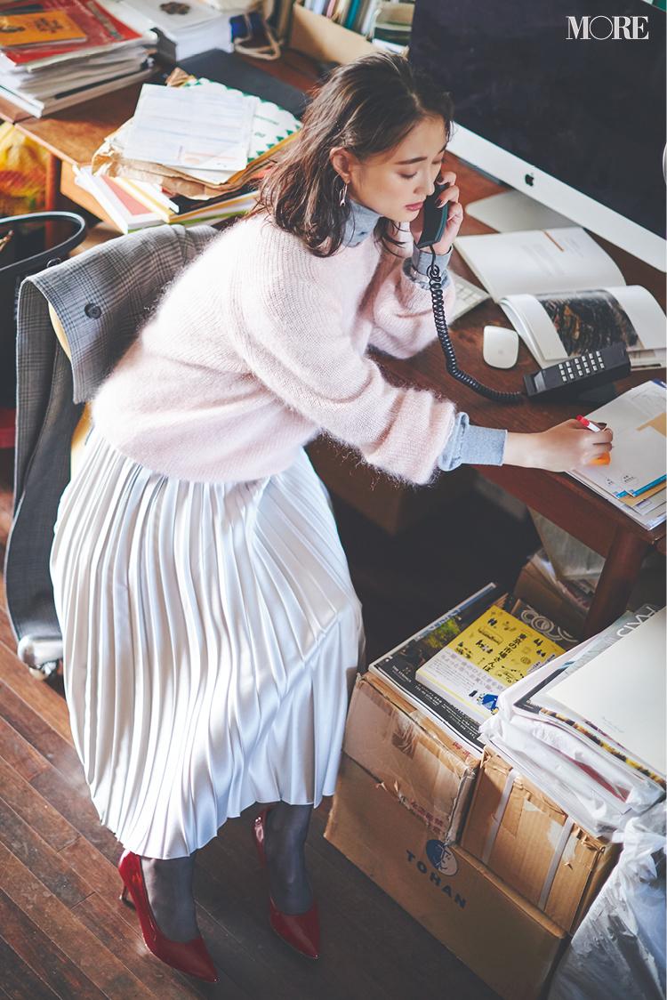 【2020年版】冬ファッションのトレンド特集 - 20代女性の冬コーデにおすすめのニットベストなど最旬アイテム・カラー・柄まとめ_29