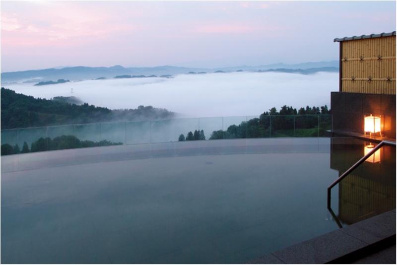 """海や雲海を堪能できるインフィニティ温泉も♡ 日本全国の""""絶景温泉""""まとめ_4"""