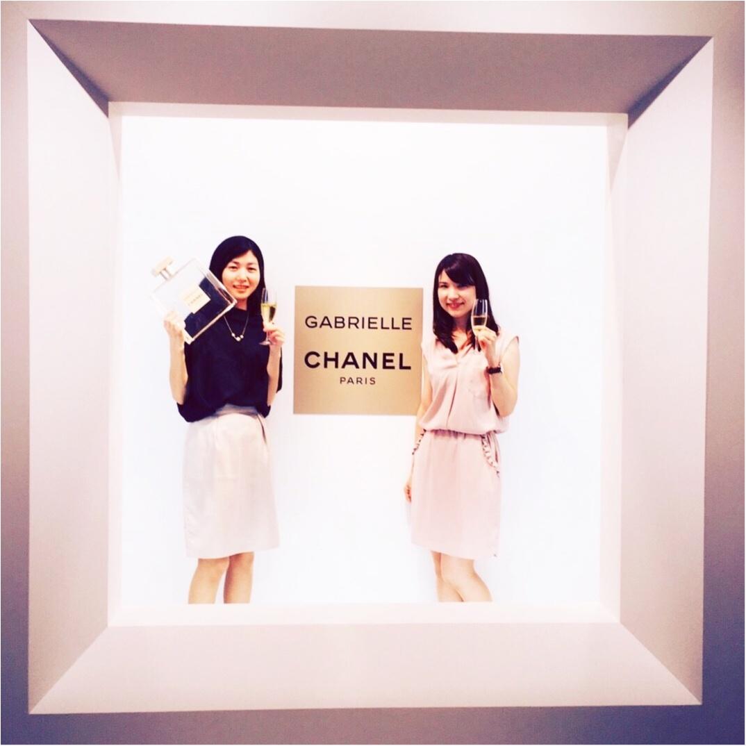 ♡シャネル新作フレグランスのイベントへ行ってきました!新作の香りの秘密は4種類の白い花なんです♡_8