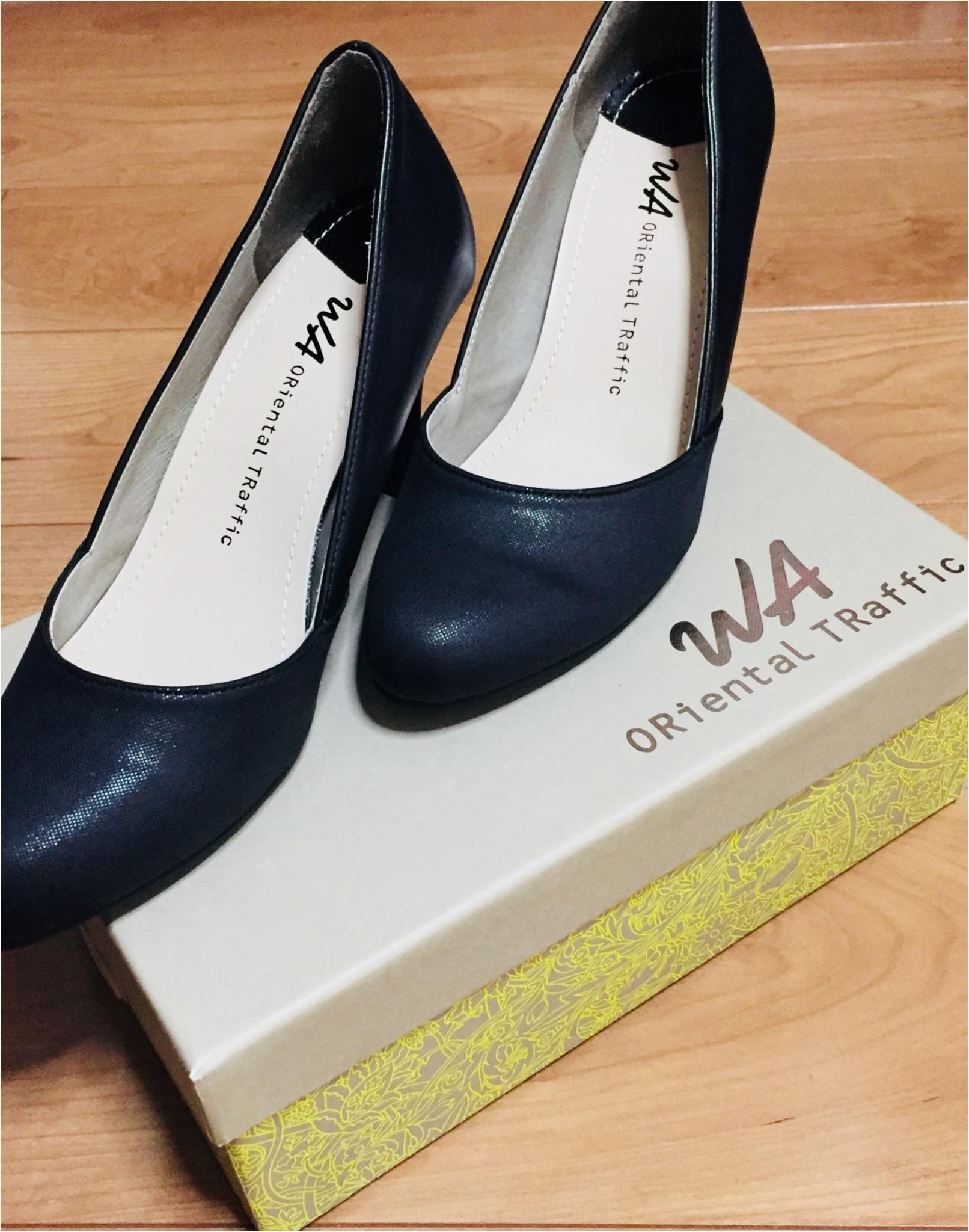 《プチプラでお気に入りの靴を手に入れる方法!》私は定番に使えるブラックパンプスを2000円でGETしてきました★_1