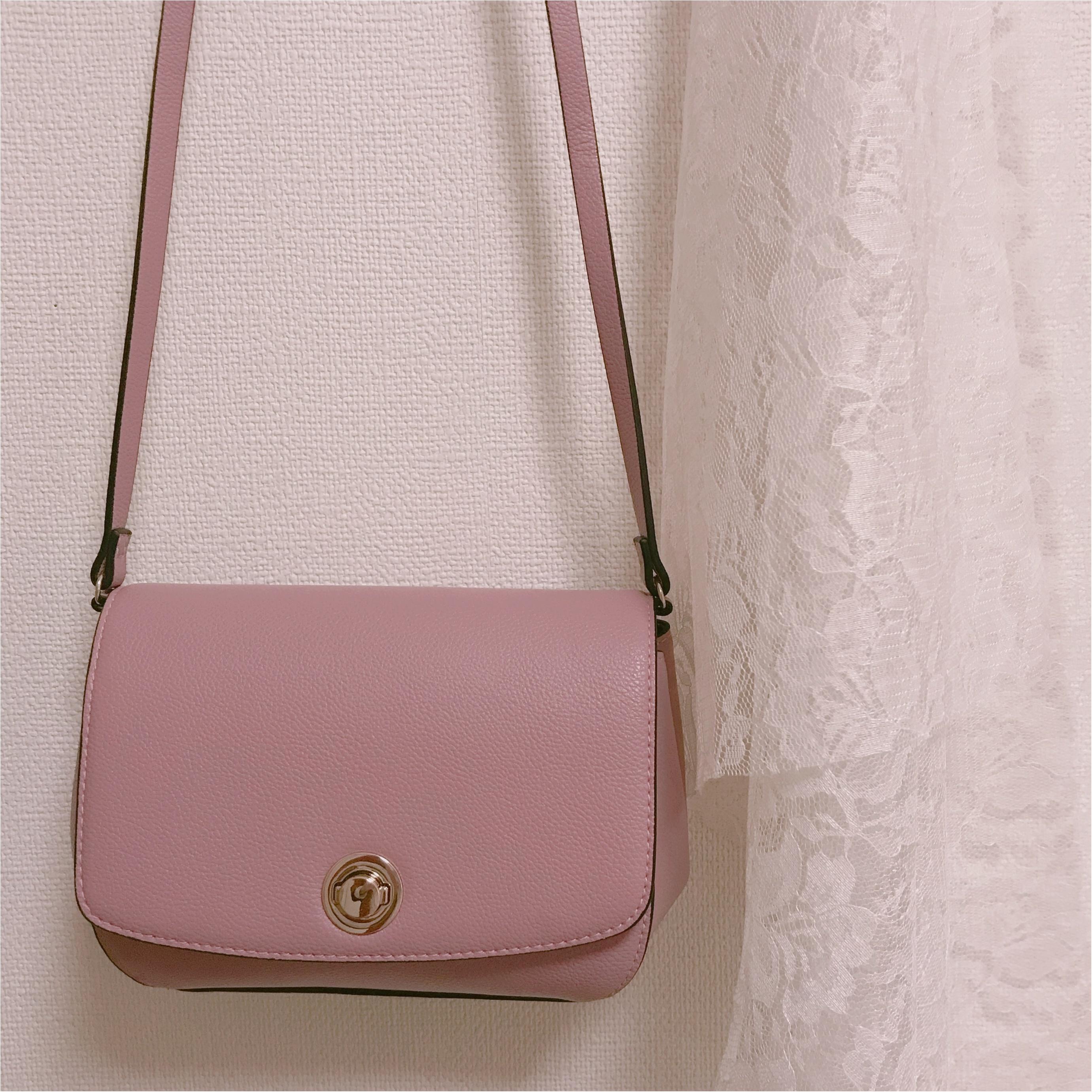 【H&M】ショルダーバッグが2000円以下❤︎プチプラなら挑戦しやすいアクセントカラーがおすすめ!_5
