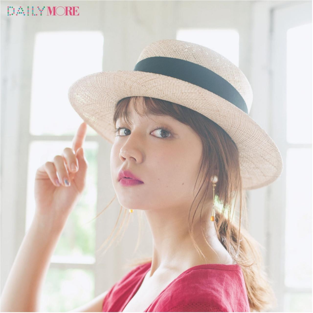 いつもの服が一気にフレンチムードに♪ お茶目な「カンカン帽」コーデまとめ♡_1_14