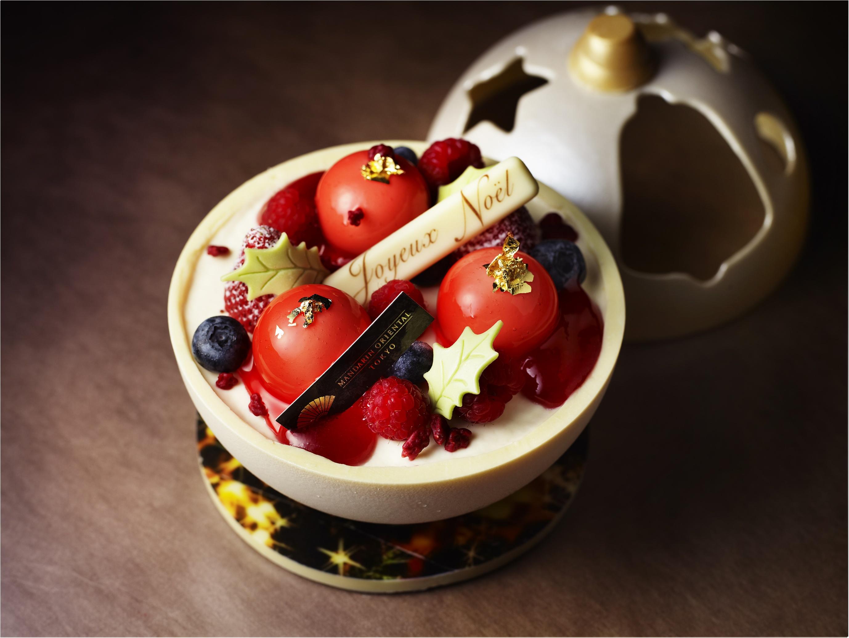 「わぁっ!」と絶対に歓声が上がります! 『マンダリン オリエンタル 東京』のクリスマスケーキ!!_2
