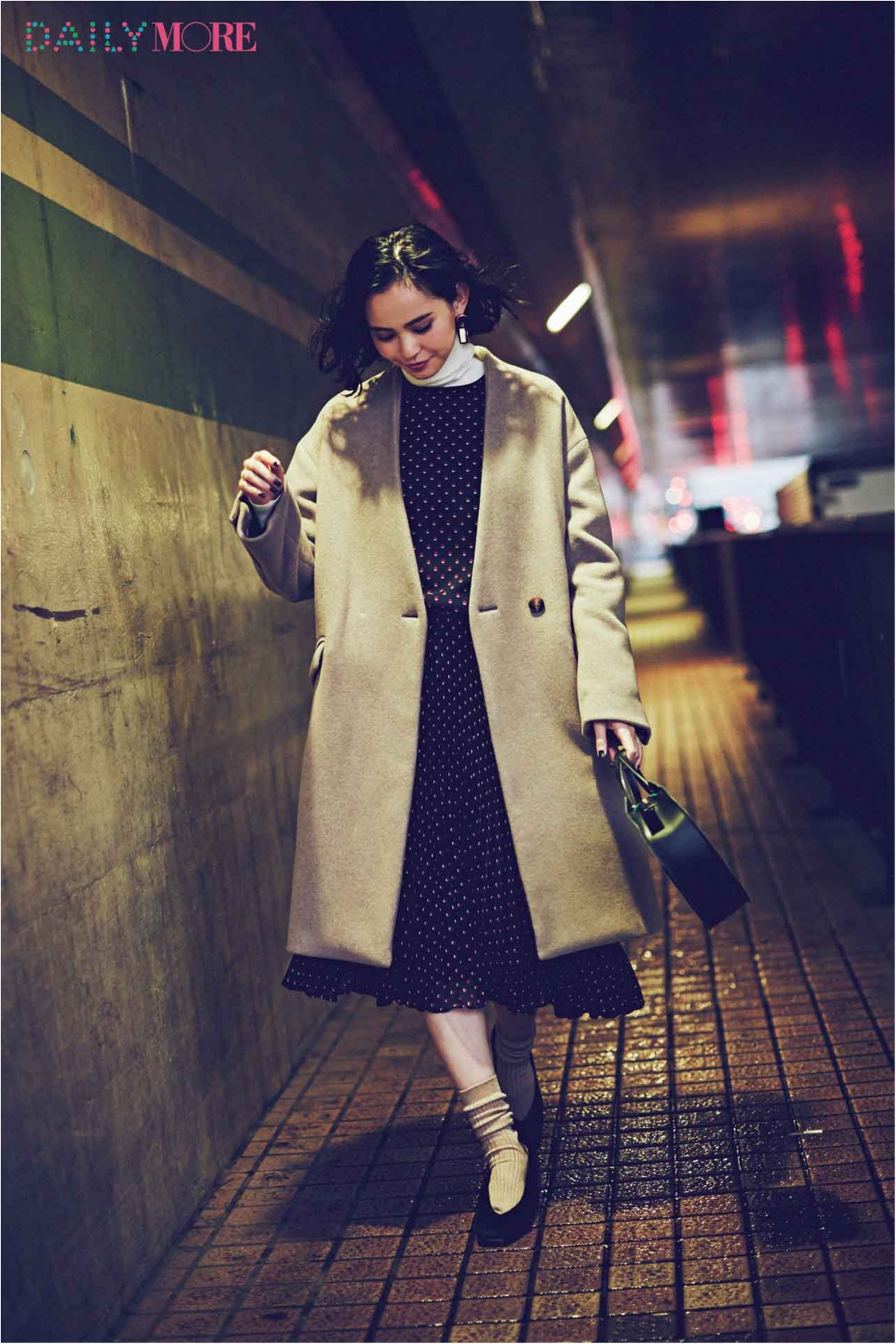【今日のコーデ/比留川游】映画館デートの水曜日は大人のレトロガーリーで気分アップ♡_1