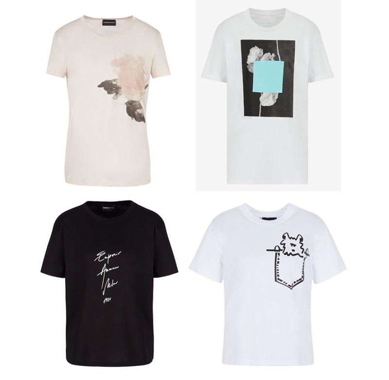 アルマーニのTシャツ、母の日ギフト