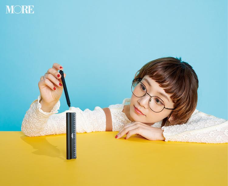 働く女子のマストハブ! 定規とボールペンがひとつになったスマートツール【こちら、三戸文房具堂。】_2