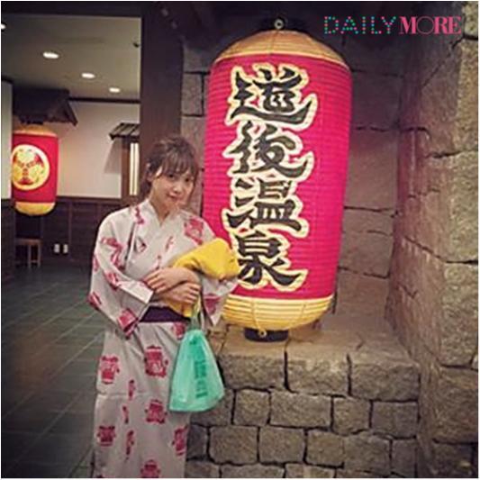 【WE♡温泉】田中里奈ちゃんの「温泉旅を120%楽しむオキテ」_1