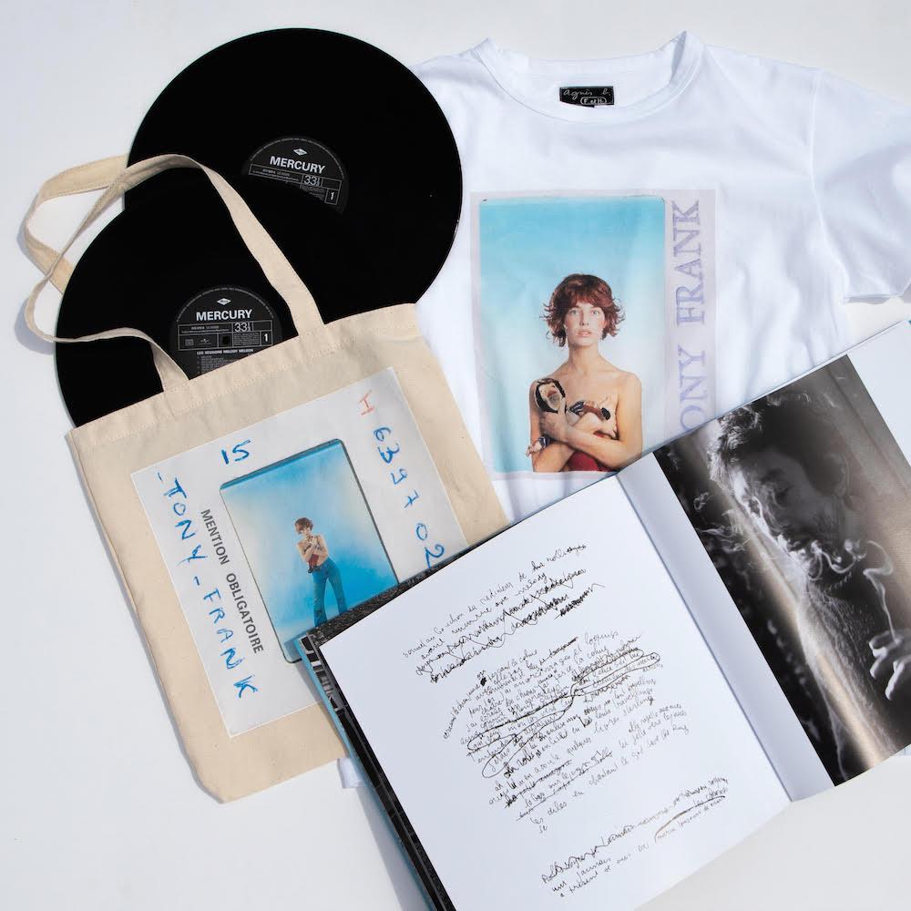 ジェーン・バーキンのフォトTも♡『アニエスベー』がフォトグラファー、トニー・フランクの写真集を独占販売!_1
