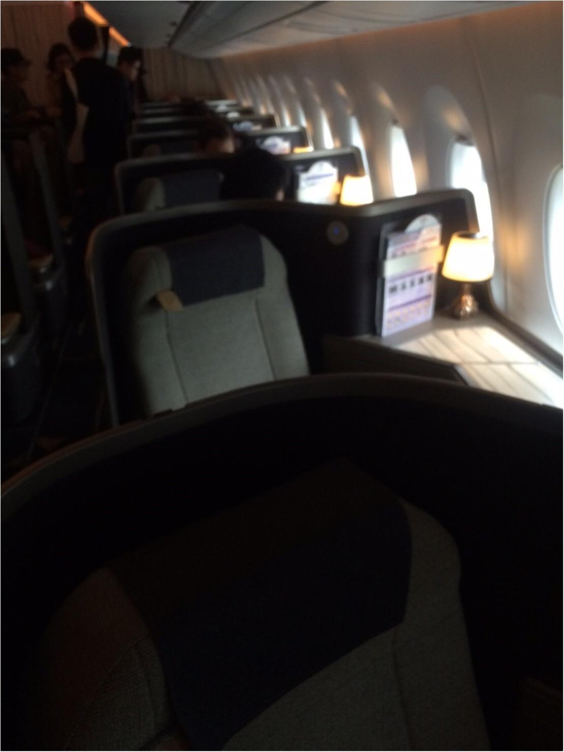 【vacation】日本にはまだない!最新ジェット機エアバスA350のビジネスクラスシートでゆったりトリップ♡_2