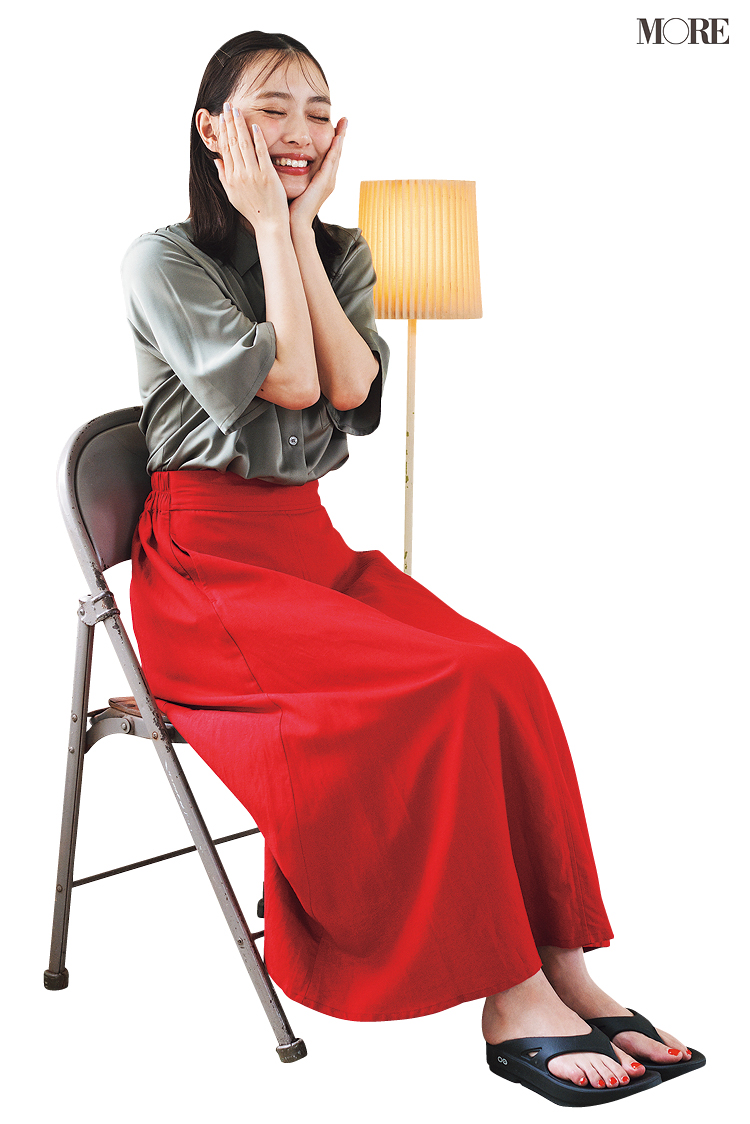 動画のプランをひらめき☆ 内田理央主演『安くて洗えて可愛い夏コーデ着回し』25日目_1