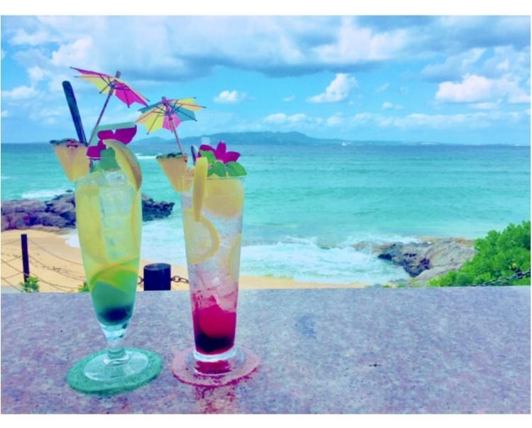 【沖縄女子旅】このドリンクがイチオシ!沖縄カフェの大定番♡ダイヤモンドブルーカフェ_8