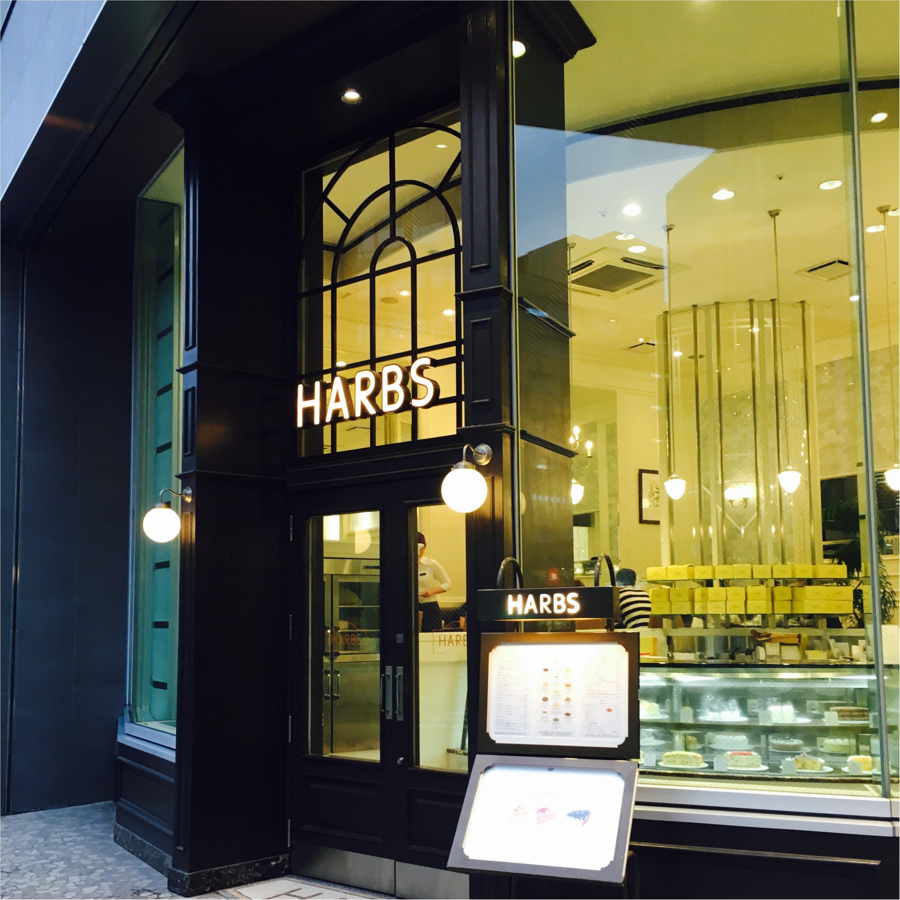 HARBSのアップルマンゴーケーキ♡_1