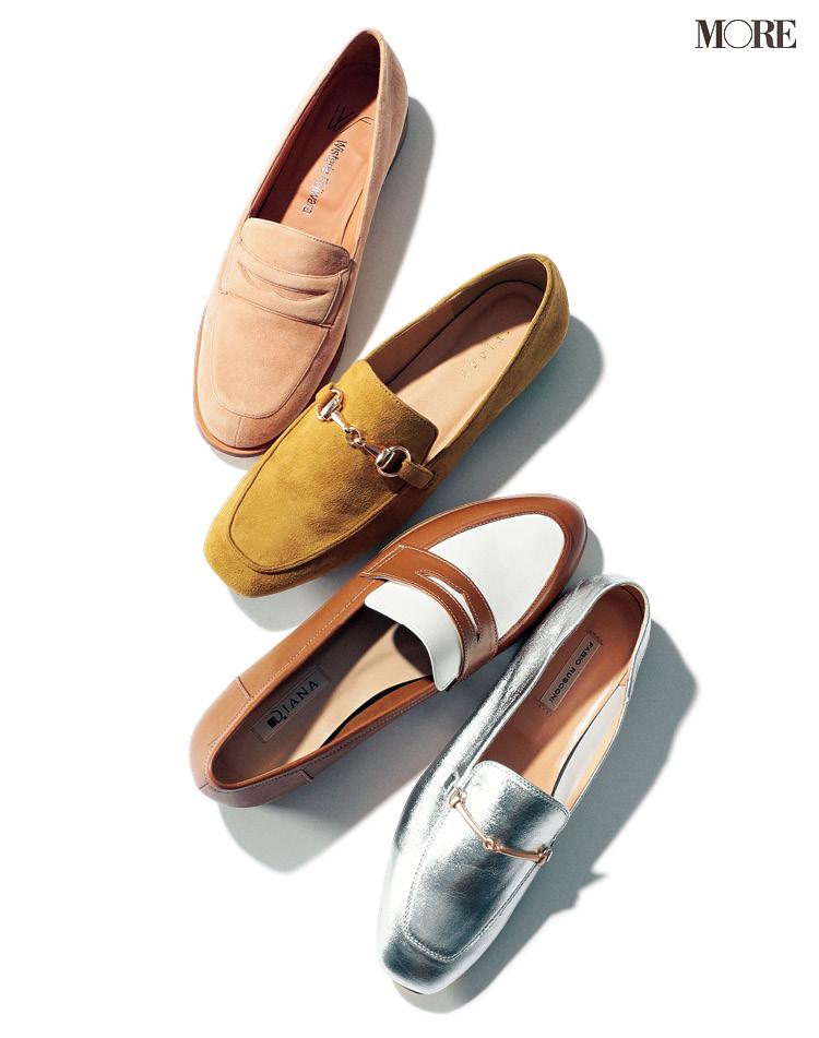 ぺたんこ靴、夏の陣!「ヘルシー見えスポサン」と「きちんと見えローファー」どちらがお好き?_3