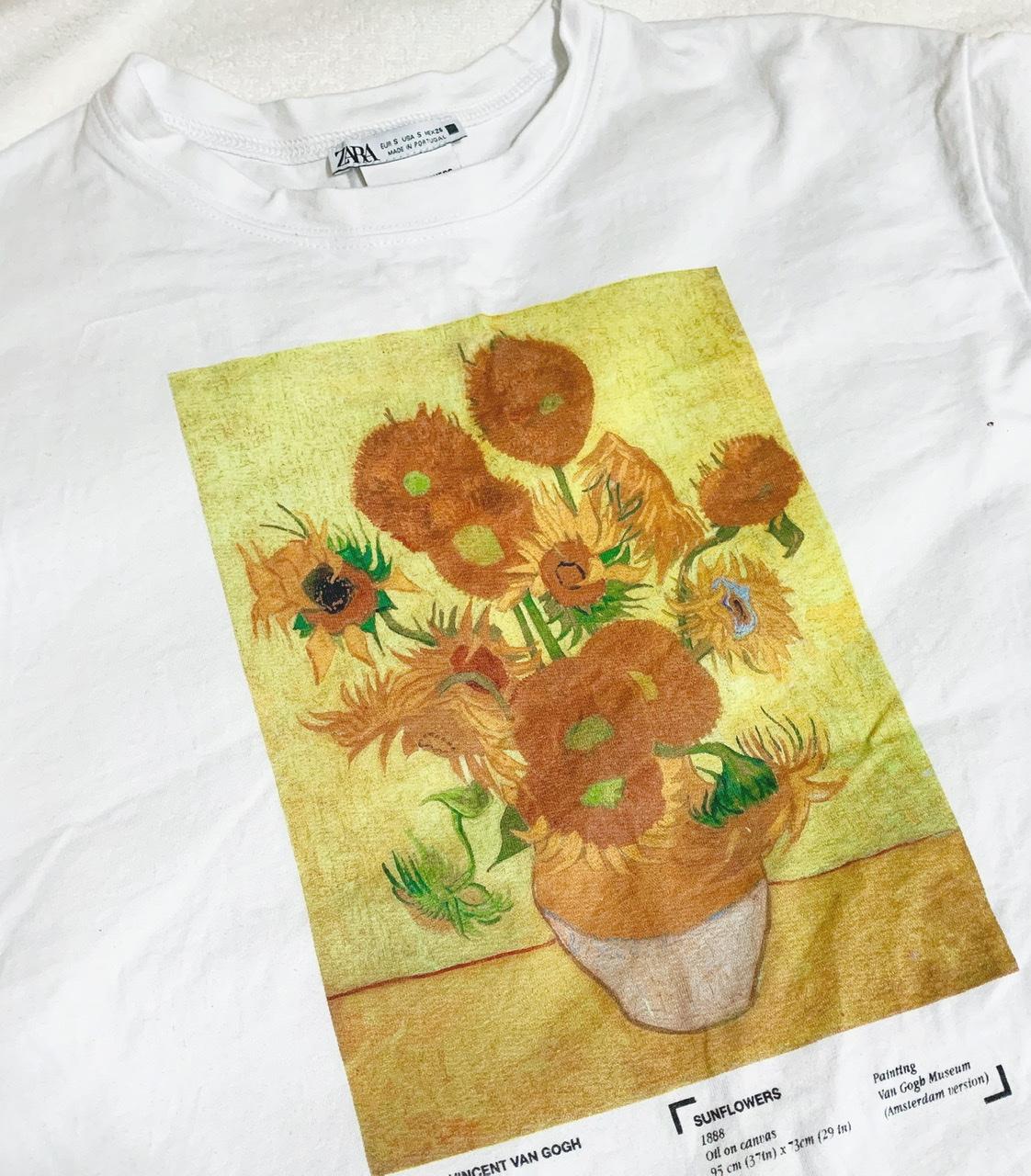 【ZARA】あの有名なひまわり?!一気に夏っぽくなる最強映えTシャツ_1