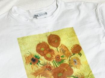 【ZARA】あの有名なひまわり?!一気に夏っぽくなる最強映えTシャツ