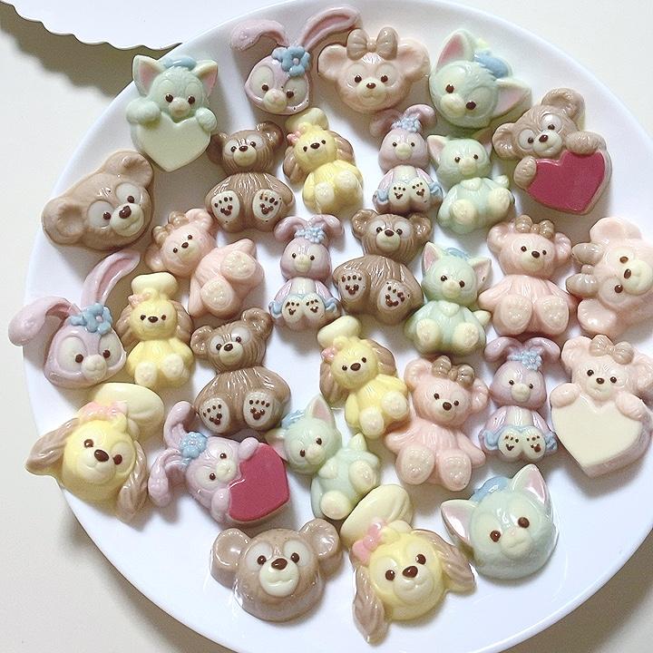 バレンタインに手作りチョコ♡ディズニーシーで購入したシリコンモールドが可愛すぎる!_4