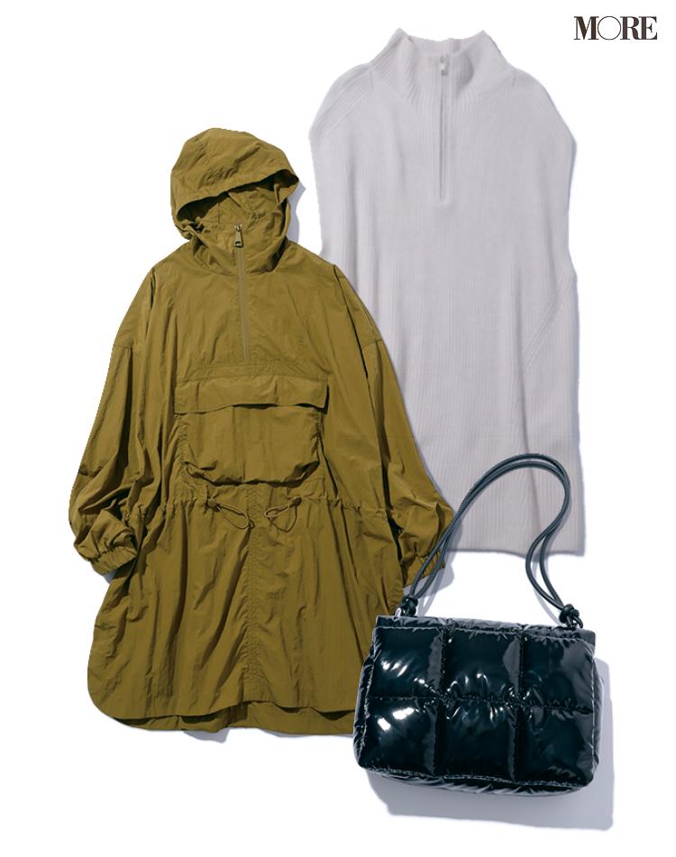 SDGsなファッションブランドリスト『H&M』の、リサイクルポリエステルやリサイクルウールを使用した秋冬新作アイテム3品