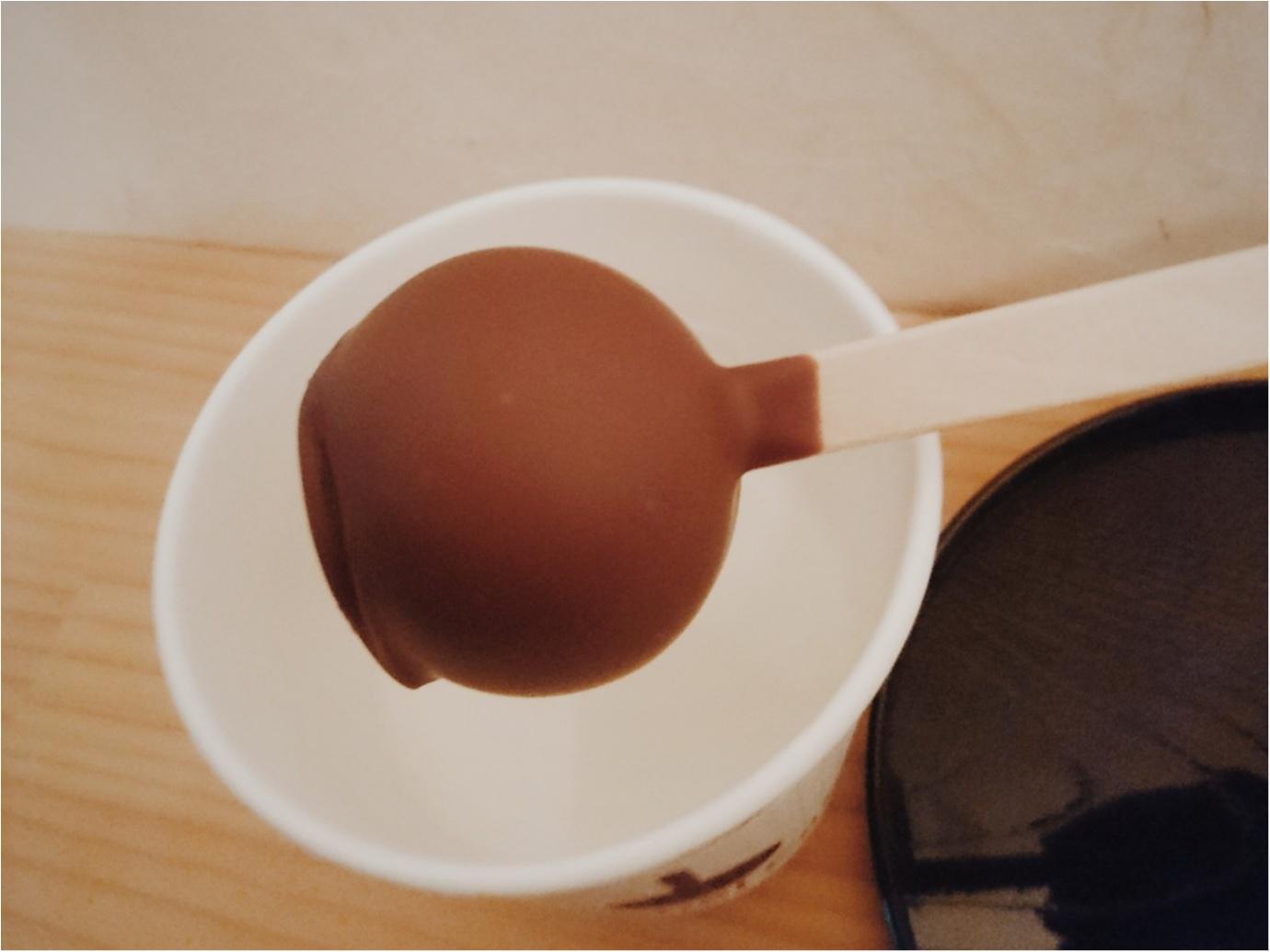 【グルメ】冬の季節にぴったり ◎ 濃厚なチョコレートをホットミルクに溶かして食べる、新感覚スイーツ『ホットスティックチョコレート』@鎌倉_5