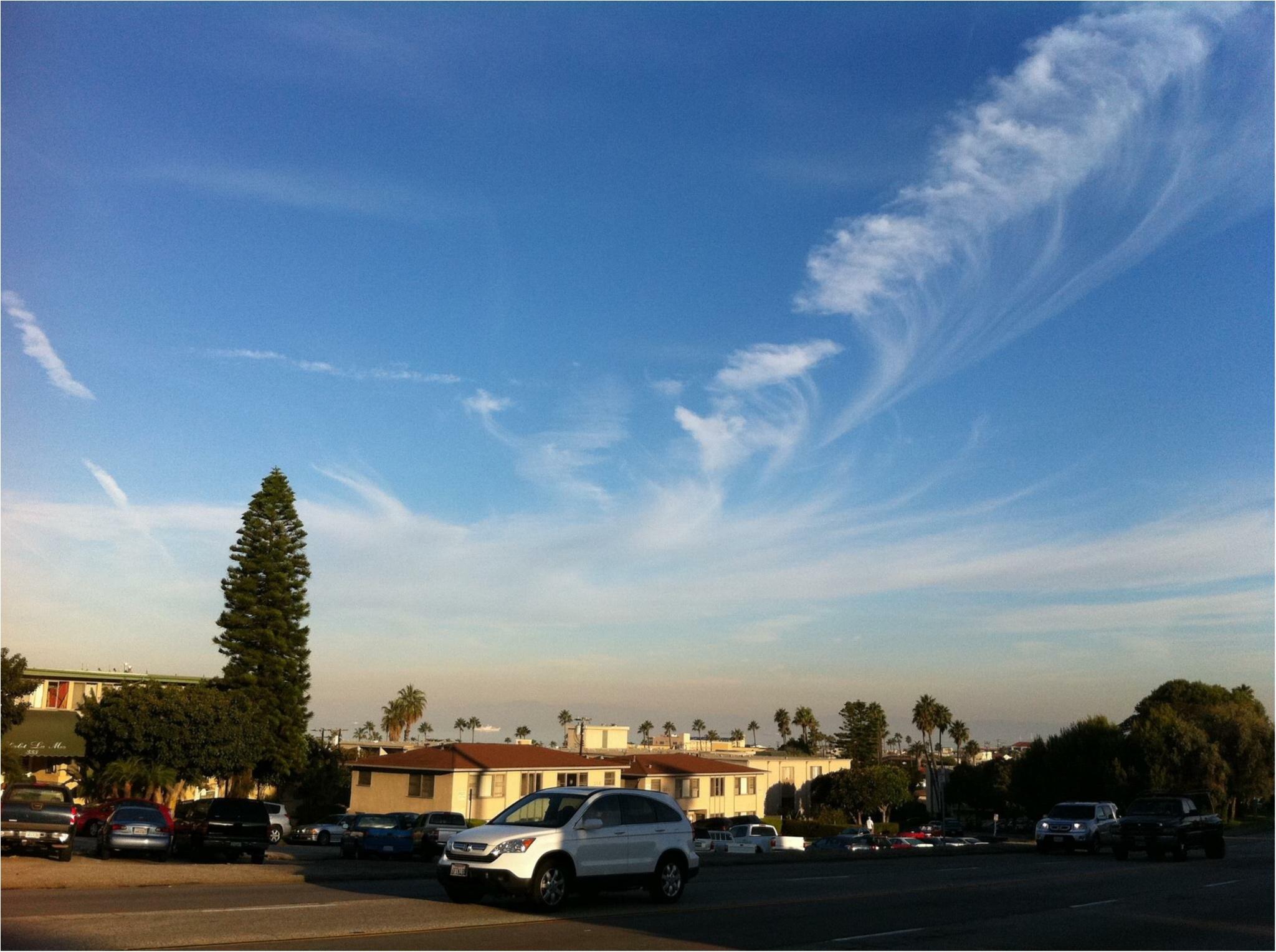 写真でも、きっと伝わるこの魅力✨朝から晩まで眺めた《*ロサンゼルスの広い空*》_3