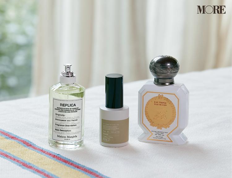 オフィシーヌ・ユニヴェルセル・ビュリーとオサジとメゾンマルジェラの柑橘系香水