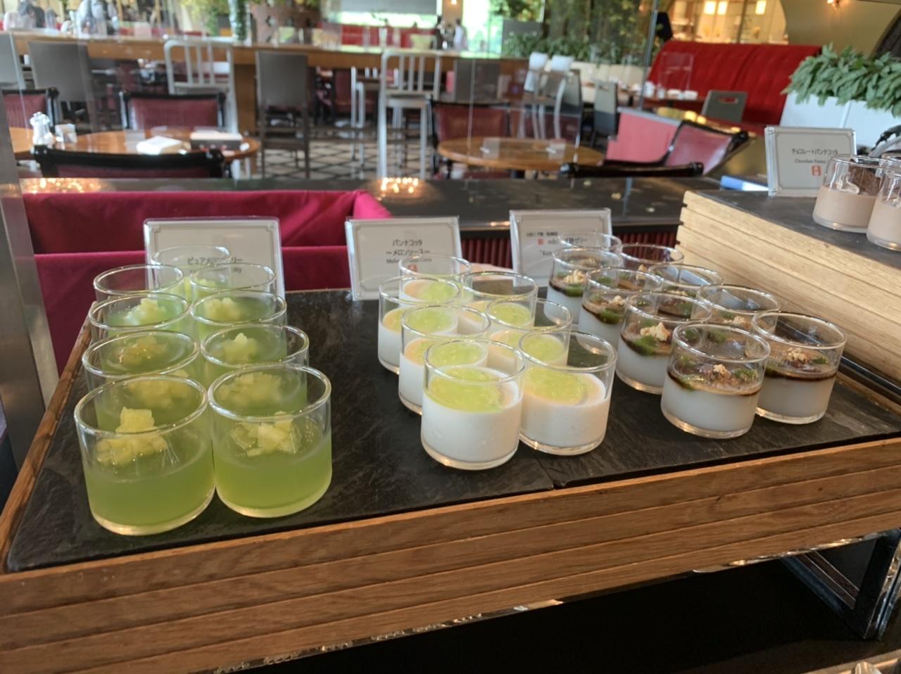 【ビュッフェ】ホテルニューオータニで抹茶とメロンとチョコレート❤︎_3