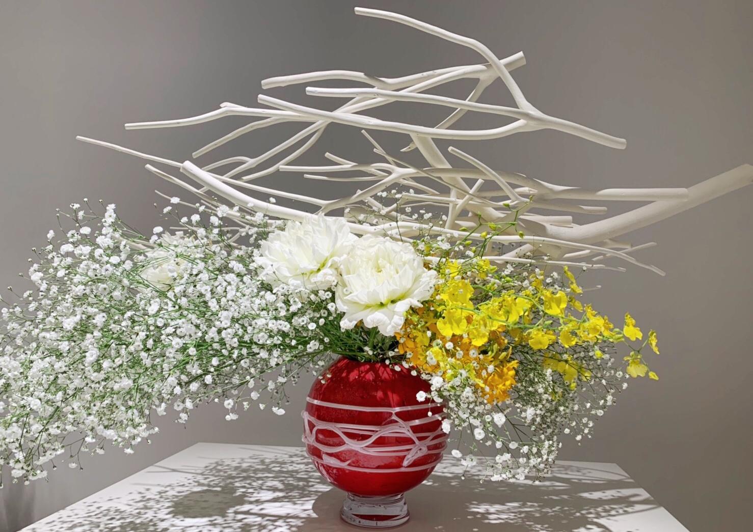 3/25まで!第100回草月いけばな展「花賛歌」が日本橋高島屋で開催中♡_3