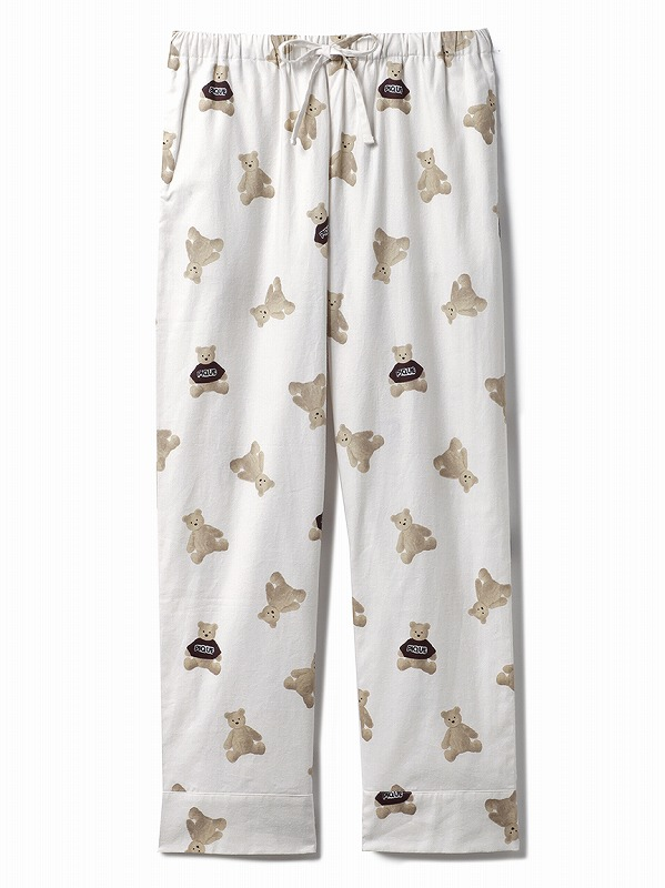 ベアネルシャツパジャマ ボトム