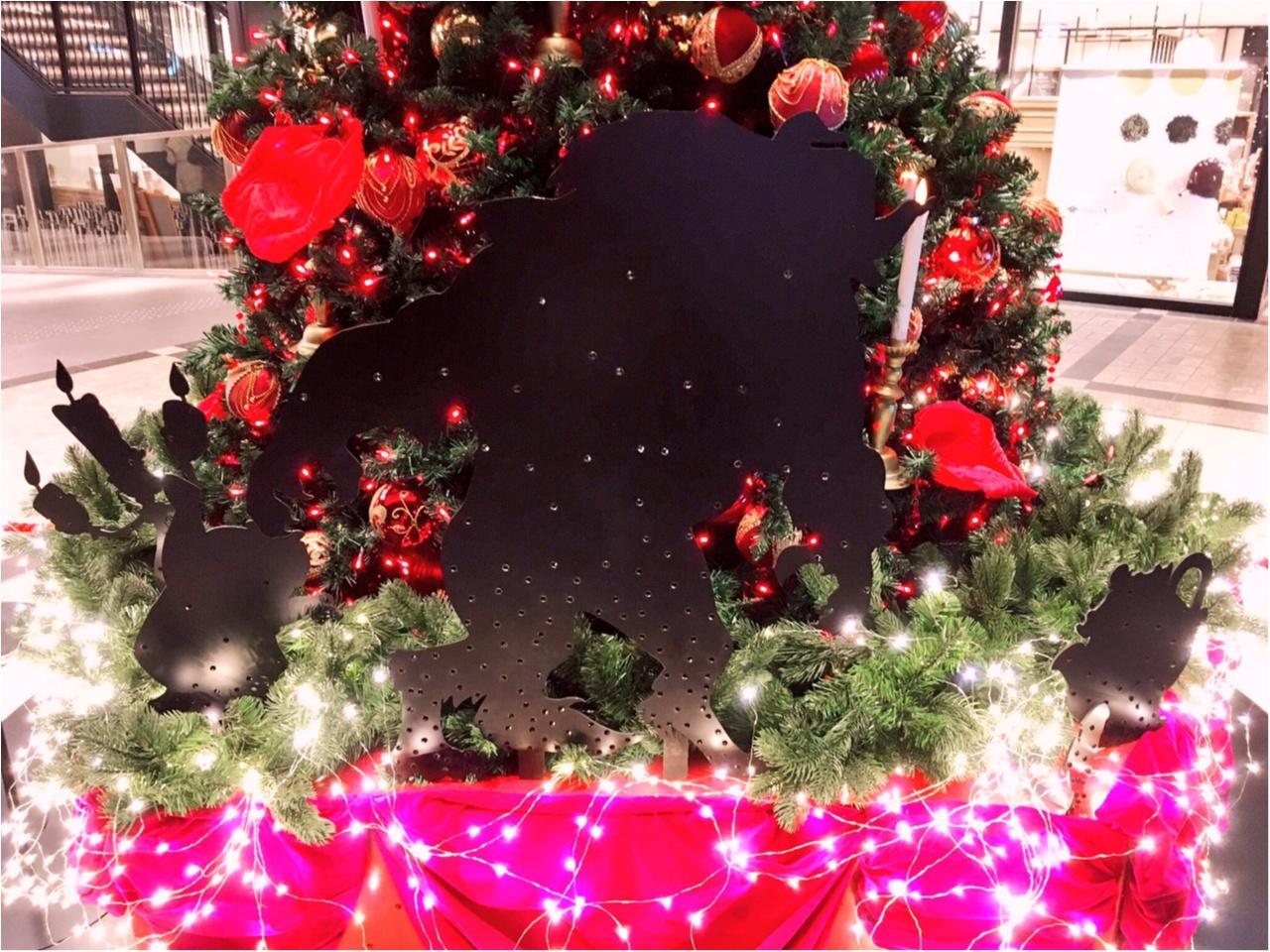 ディズニー映画『美女と野獣』がテーマの 『TOKYU PLAZA GINZA CHRISTMAS 2016』を写真たっぷりでご紹介しちゃいます♡_5