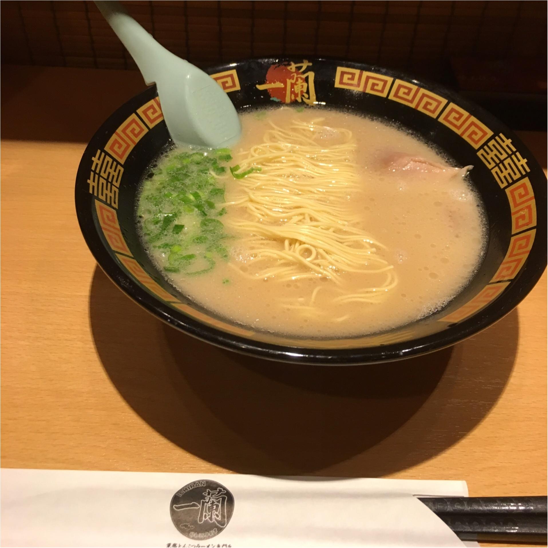 おさよ:個室で食べるラーメン、【一蘭】って知ってる??_2