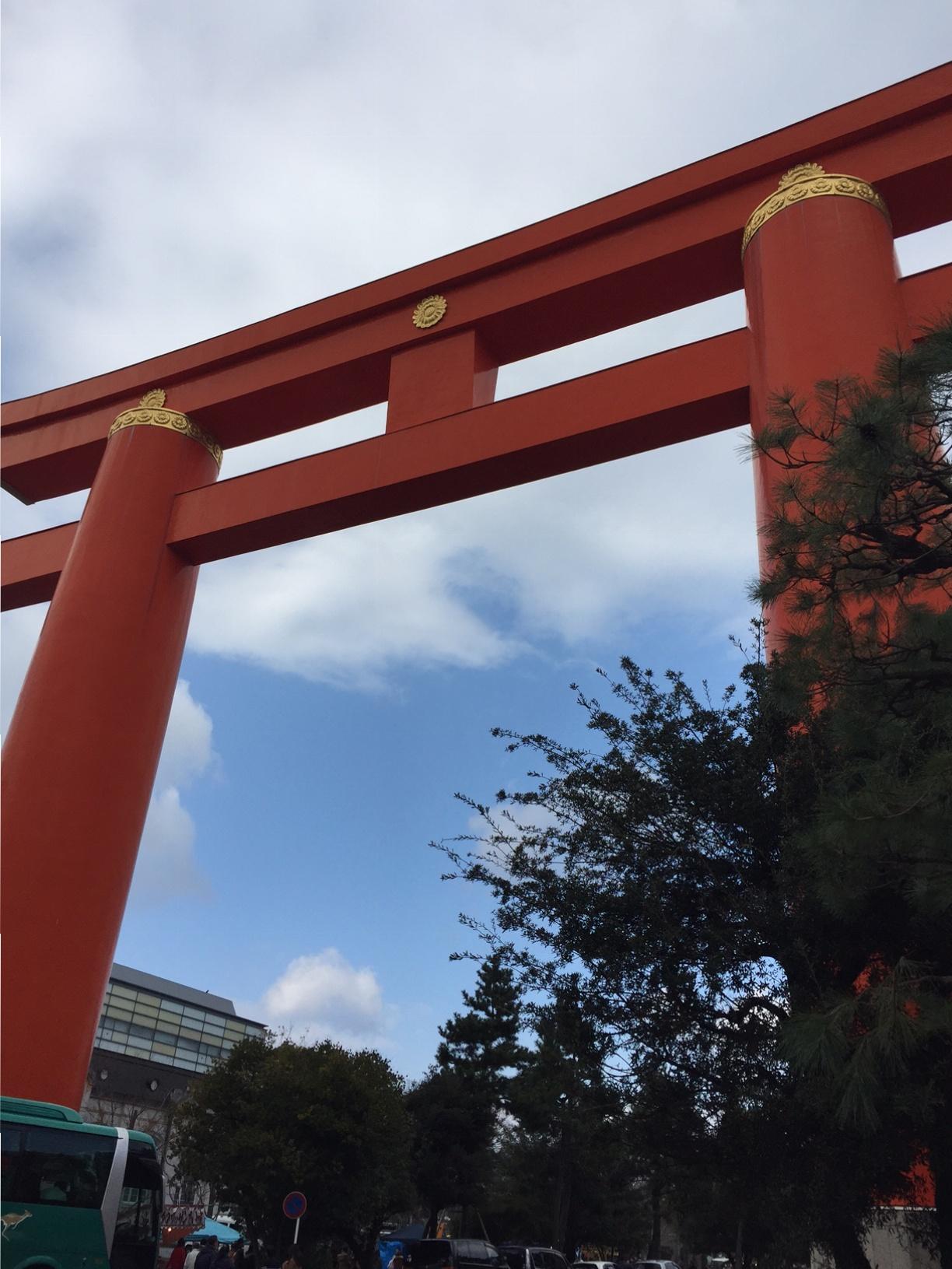 初詣は京都・平安神宮へ。2017年「なりたい私に着がえよう。」_1