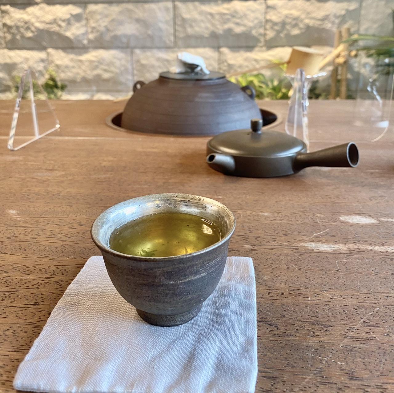 茶樂茶カフェの煎茶