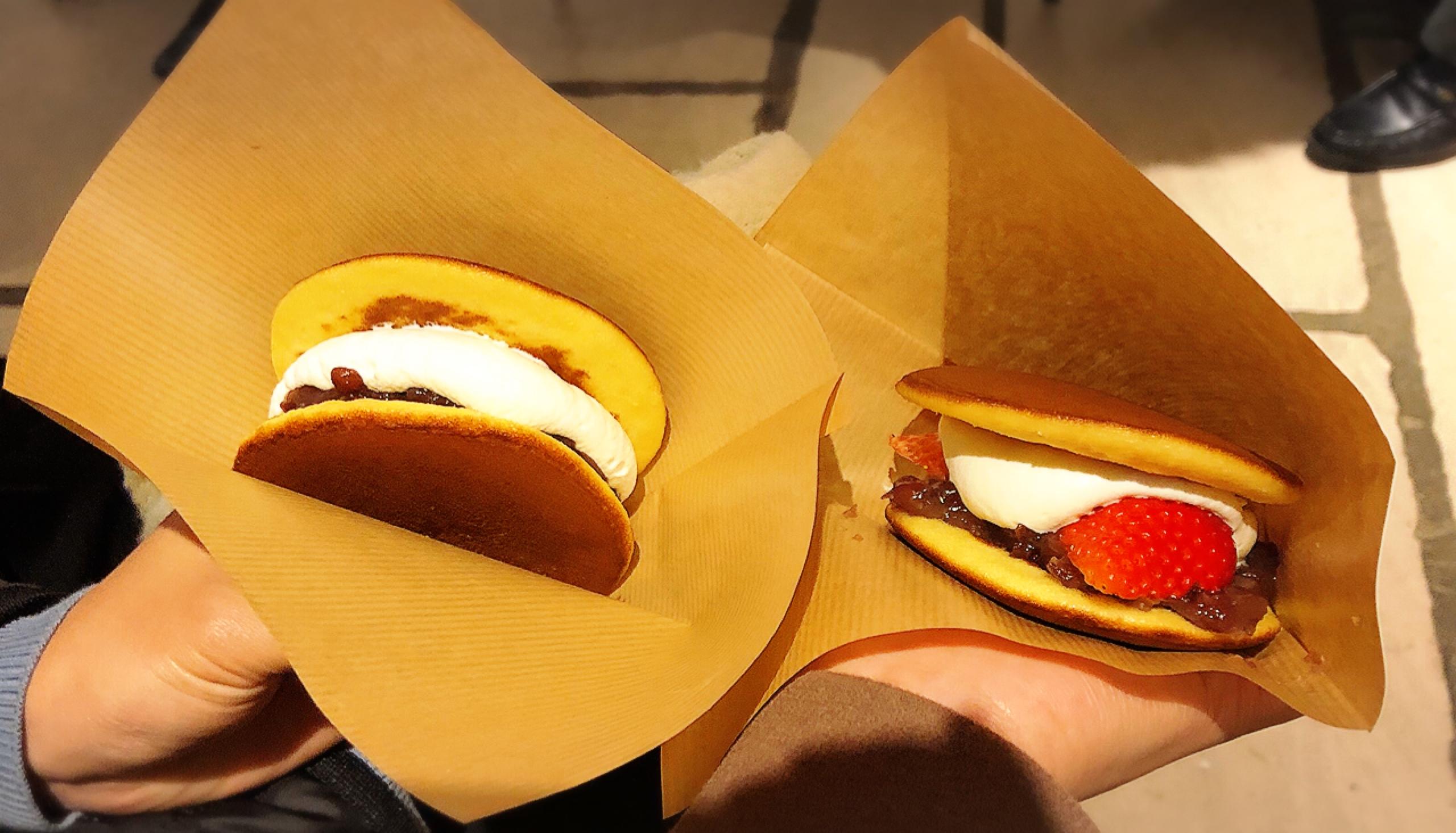 【クラブハリエ】#滋賀県 ふんわり生どら焼きが美味!可愛いバームクーヘン型ポーチの中にはパイが(*´꒳`*)_3