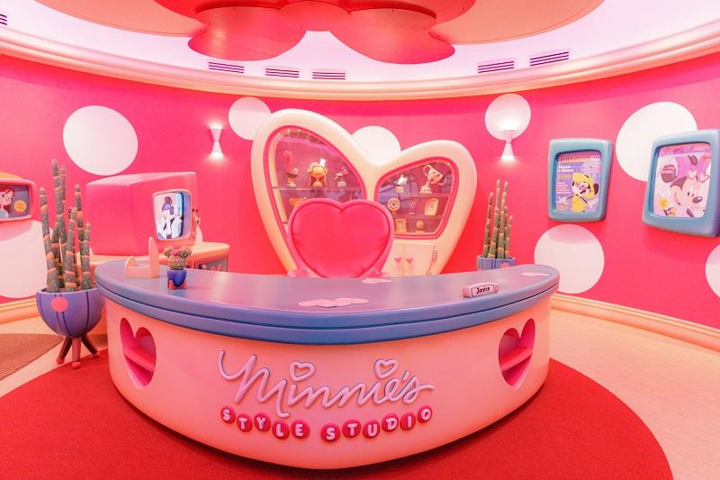 『東京ディズニーランド』初! ミニーマウスに会えるグリーティング施設「ミニーのスタイルスタジオ」が可愛すぎる件♡ _3