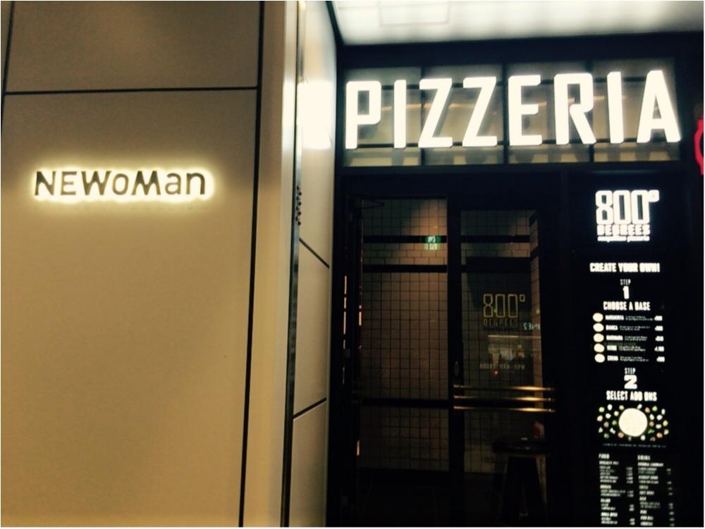 今、新宿駅新南口が熱い!!LA発日本初上陸のピザレストランに行ってきました♡*_1