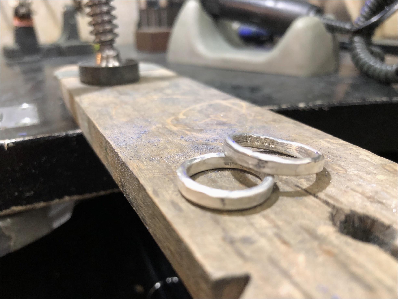 聖なる夜に、世界で一つだけの指輪を♡手作りしてきました!_5
